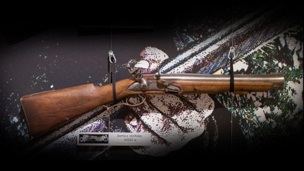 garłacz, wystawa broń czarnoprochowa