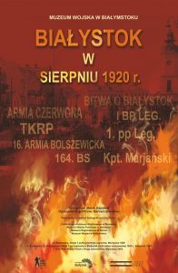 Plansza wystawy Bitwa o Białystok