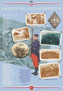 Plansza wystawy Armia Błękitna