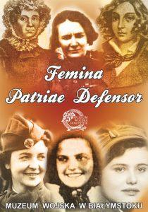 Plansza wystawy Femina Patriae Defensor
