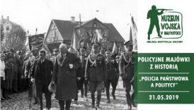 Czytaj więcej o: Policyjna majówka z historią. Spotkanie z dr hab. Bolesławem Sprenglem (21 maja)