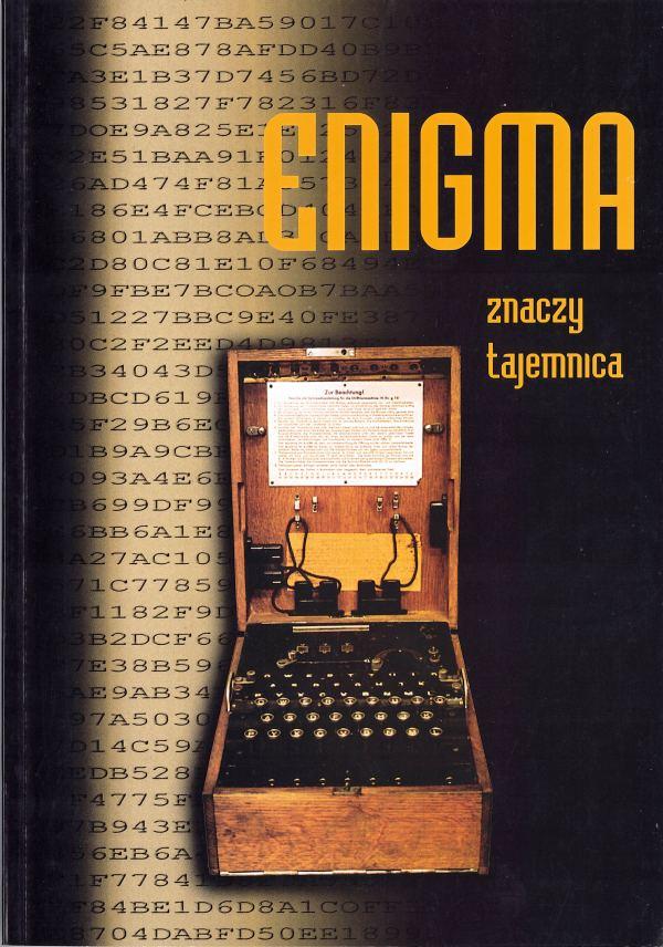 okładka - Enigma- znaczy tajemnica