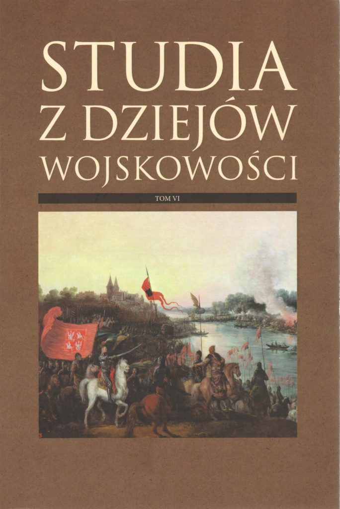 okładka - Studia z Dziejów Wojskowości t. 6