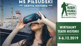 """Czytaj więcej o: Wirtualny Teatr Historii """"Niepodległa"""". MS """"Piłsudski"""" przypływa do Białegostoku! (4-6 grudnia br.)"""