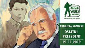 """Czytaj więcej o: Premiera komiksu """"Ostatni Prezydent. Gawęda o Ryszardzie Kaczorowskim"""" (21 listopada)"""