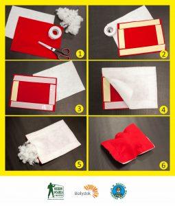 Instrukcja przygotowania poduszki