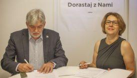 Czytaj więcej o: Porozumienie o współpracy z Fundacją Dorastaj z Nami