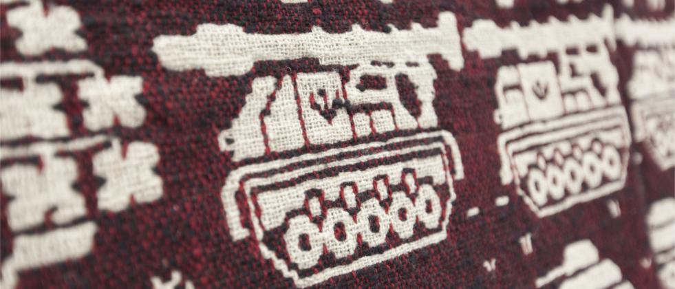 Tkaniny - wystawa