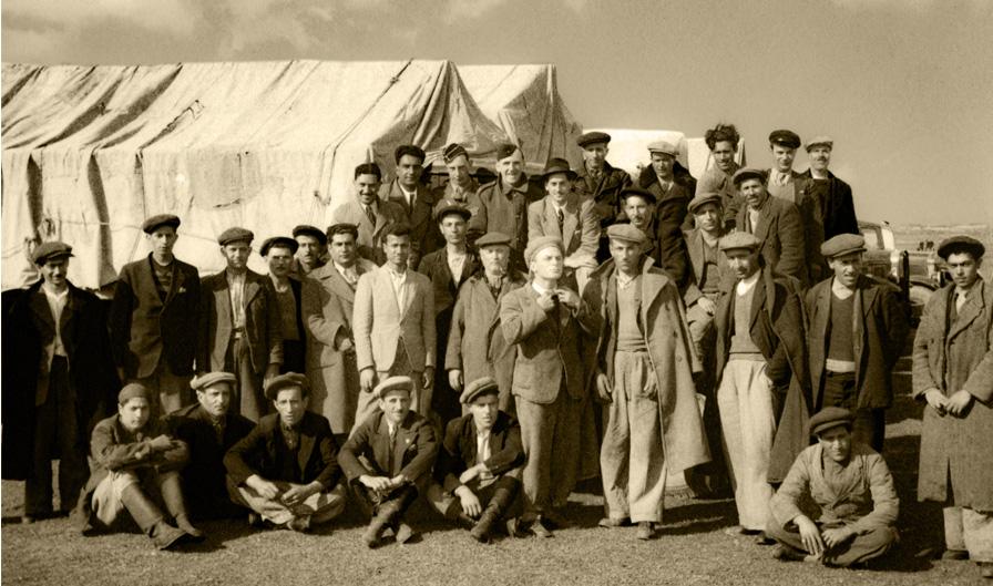 Ochotnicy Polskich Sił Zbrojnych w ZSRR, ZSRR, 1942 rok. Fotografia ze zbiorów Muzeum Wojska w Białymstoku, nr inw. MWB/D/5111.